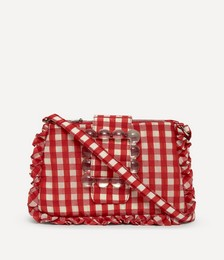 Charles Frilly Cotton-Blend Cross-Body Bag