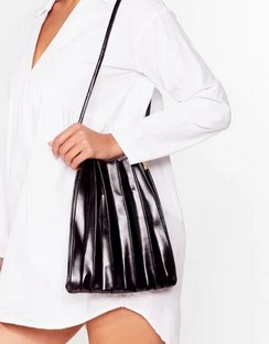 WANT The Pleat of the Night Shoulder Bag