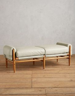 Premium Leather Rhys Bench