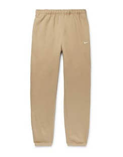 NRG Tapered Fleece-Back Cotton-Jersey Sweatpants