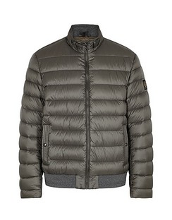 Circuit Grey Quilted Shell Jacket