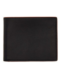 Black & Red Hampshire Bifold Wallet