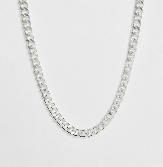Short Chunky Chain in Silver Tone