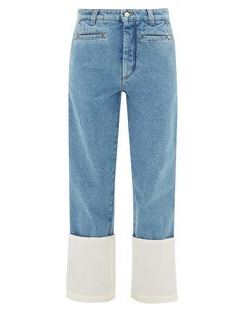 Fisherman Turn-up Cuff Jeans